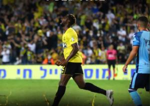 Striker Richmond Boakye-Yiadom strikes again as Beitar Jerusalem deny Maccabi Netanya F.C. win
