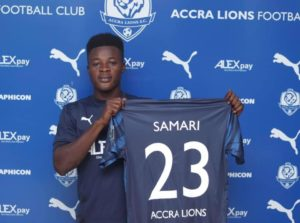 Accra Lions sign midfielder Abass Salifu to strength squad for Premier League campaign