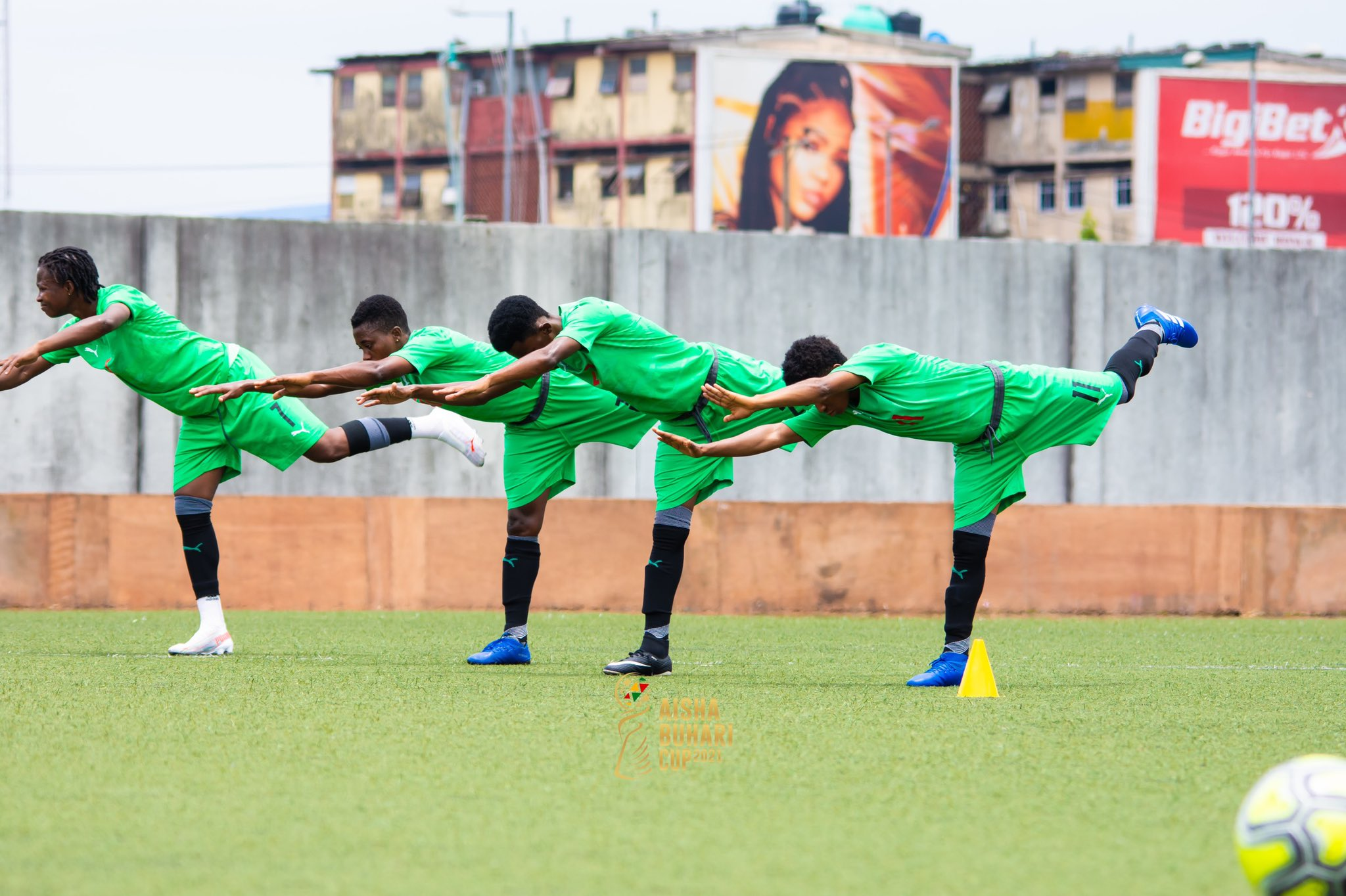 Aisha Buhari Cup: Black Queens hold first training session in Nigeria