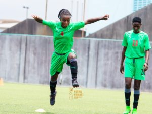 PHOTOS: Black Queens hold first training session in Nigeria ahead of Aisha Buhari Cup