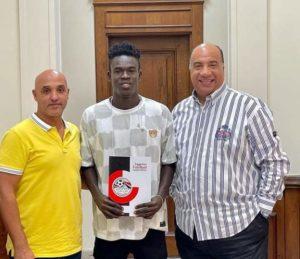 Striker Benjamin Bernard Boateng completes move to Egyptian club Al Ittihad Alexandria