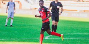 Ghanaian forward Francis Narh scores brace as Slavia Mozyr thrash Dinamo Brest