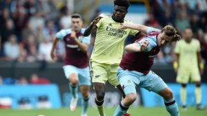 Arsenal boss Arteta praises Thomas Partey for playing crucial role in Burnley win