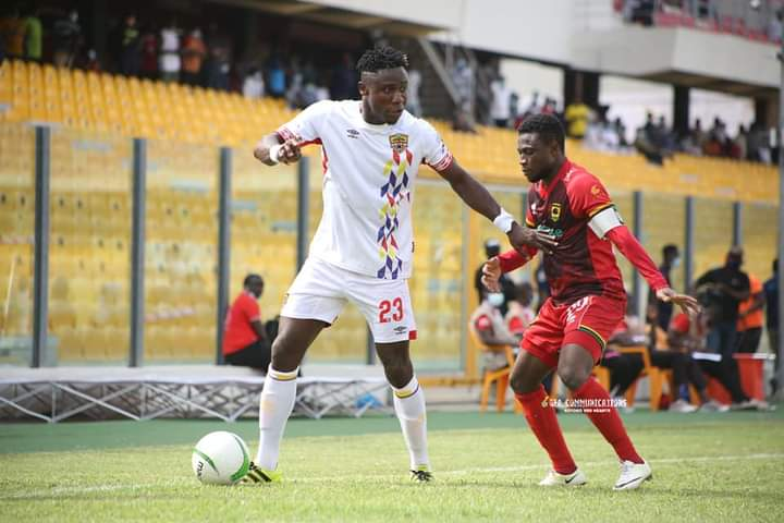Hearts of Oak demand $20k from Nuru Sulley before terminating his contract