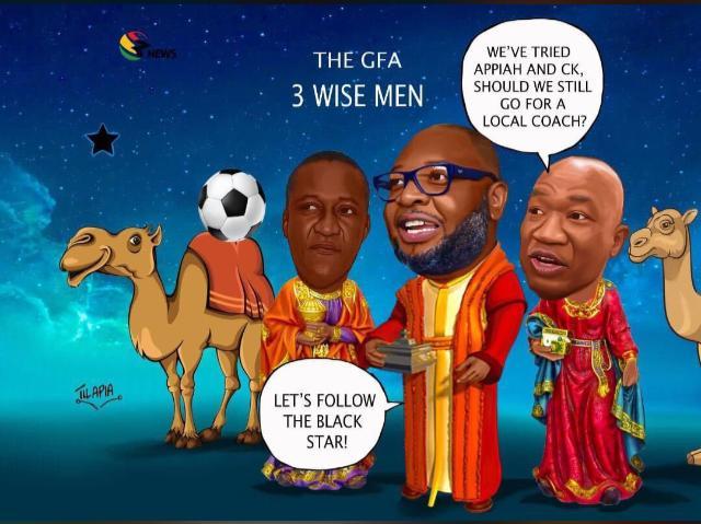 GFA 'three wise men' set to name new Black Stars coach