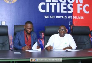 Legon Cities sign deal with Fitogether Incorporated
