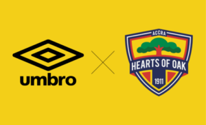 Hearts of Oak extend partnership deal with Umbro until 2023