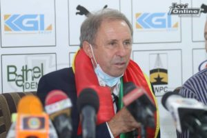 Black Stars: Securing qualification for 2022 World Cup is my priority now - Milovan Rajevac