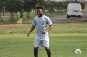 Gladson Awako disclose desire to leave Hearts of Oak to Olympics officials