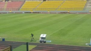 Sports Minister Mustapha Ussif declares Baba Yara Stadium opened to host matches