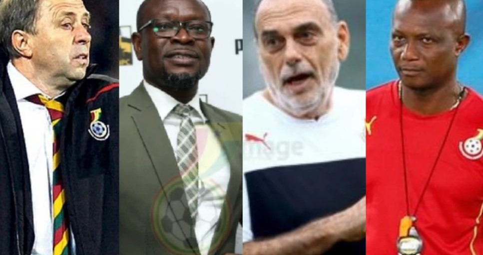 Complete list of Black Stars coaches since Ghana's first World Cup appearance