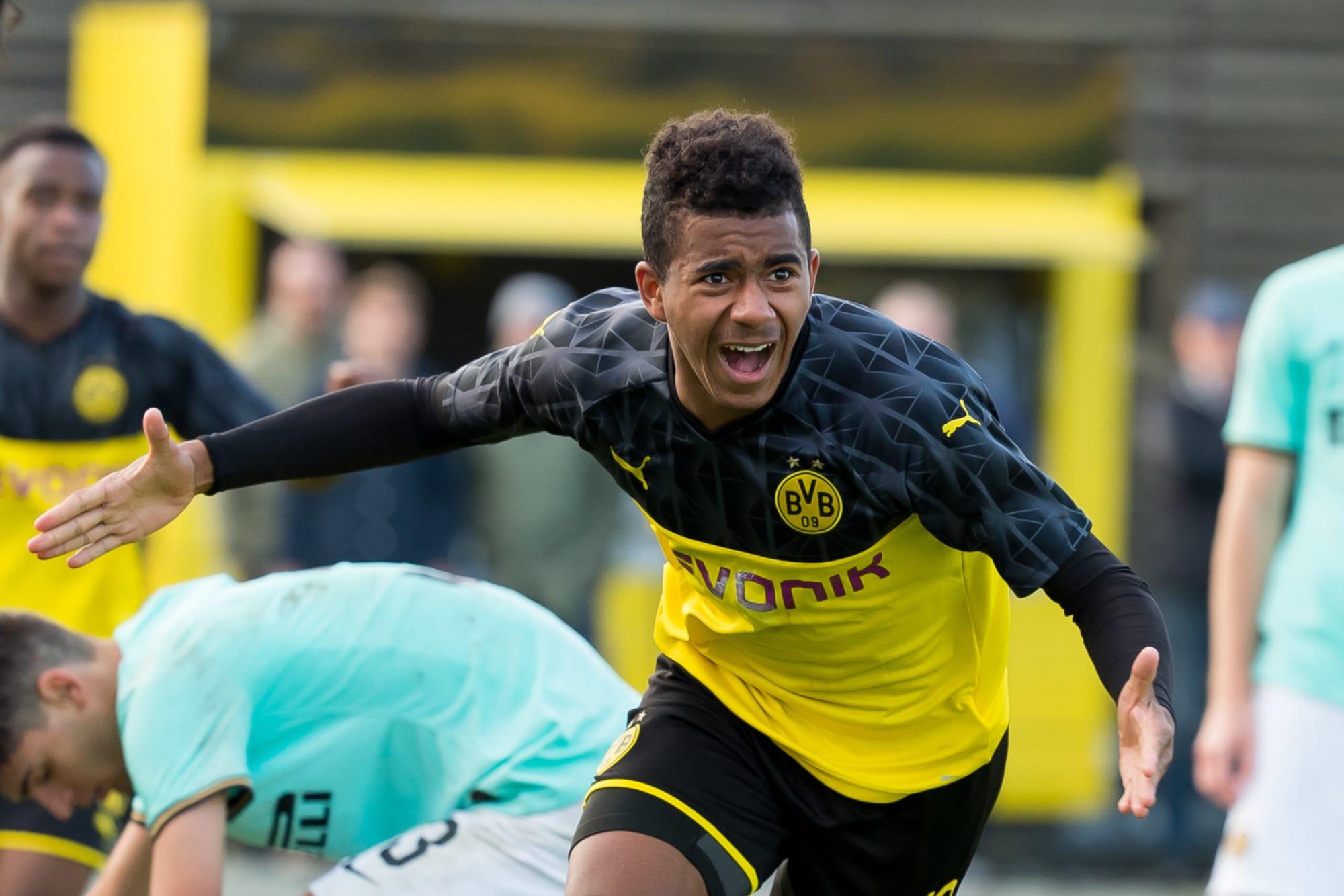 Ansgar Knauff in BVB Uefa Youth League squad