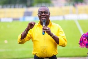 AshGold President Frimpong breaks silence over match fixing, claims detractors are at work