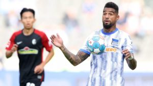 Concerns raised over KP Boateng's fitness after Hertha Berlin's defeat to Freiburg