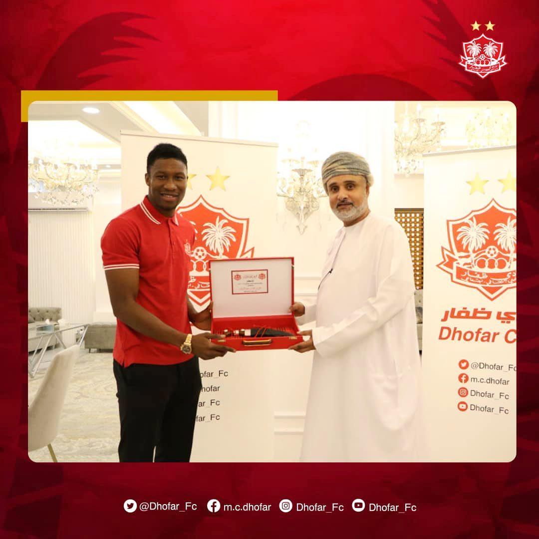 Dhofar Club complete signing of Ghanaian striker Sadam Sulley