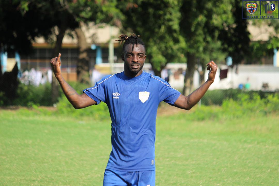 Our target is to beat Wydad AC on Sunday, says Hearts midfielder Ansah Botchway
