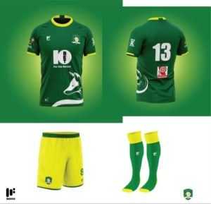 Aduana Stars unveil kit designs of new home and away jerseys for upcoming football season