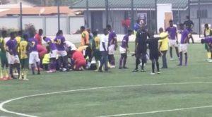 VIDEO: Tema Youth goalkeeper Christian Addai suffers career-threatening injury