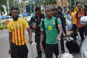2022 FIFA WCQ: Zimbabwe players arrive in Ghana for crucial clash