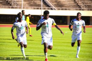 VIDEO: Zimbabwe 0-1 Ghana – Watch Thomas Partey's powerful free kick goal
