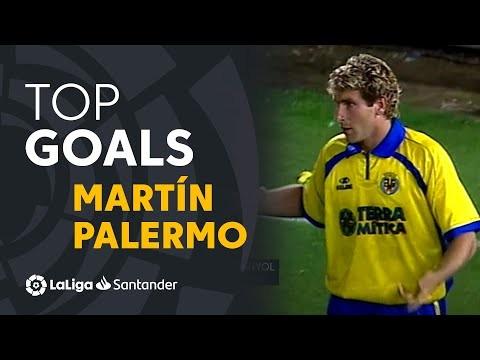 TOP 10 GOLES Martín Palermo LaLiga Santander