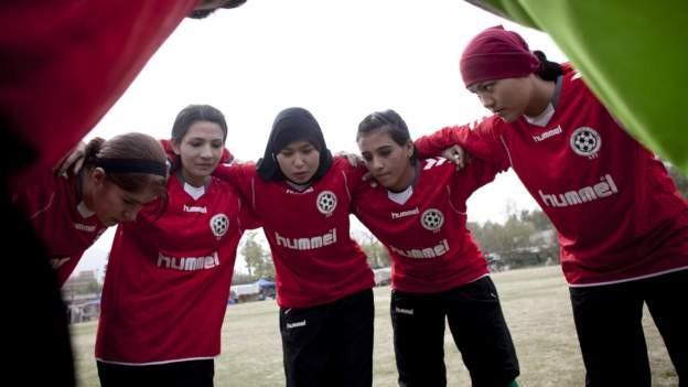 Around 100 female Afghan players evacuated