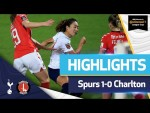 Tang Jiali scores first goal for Spurs! | WOMEN'S LEAGUE CUP HIGHLIGHTS | Spurs 1-0 Charlton