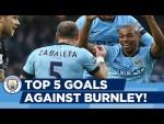 Fernandinho worldie, anyone? | Top 5 v Burnley | Man City Goals!