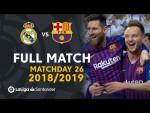 Real Madrid vs FC Barcelona (0-1) J26 2018/2019 - FULL MATCH