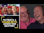 POSTMAN AL & PARLOUR HIS PAL🤣 Alan, Ray & Trevor answer your questions from balding to boyfriends...