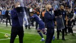 Crowd trouble in Marseille v PSG