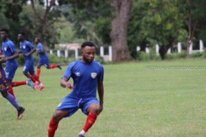 Gladson Awako set to resume training with Hearts of Oak teammates