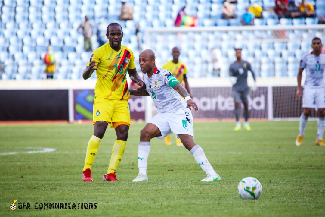 2022 FIFA WCQ: Andre Ayew delighted to score as Ghana beat Zimbabwe to pile pressure on South Africa