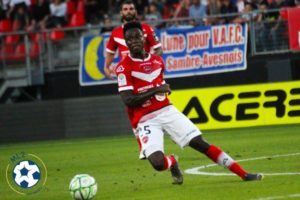 In-form Ghana defender Emmanuel Ntim with most interceptions in French Ligue 2 this season