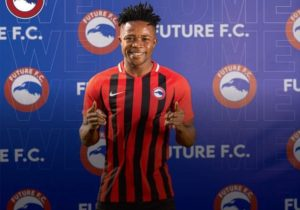 Egyptian side Future FC unveil new signing Diawisie Taylor