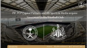 Ghana forward Christian Atsu congratulates Newcastle fans after Saudi takeover