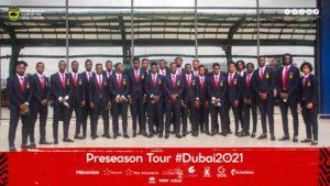 PHOTOS: All set for Kotoko's Dubai trip as players pose for pictures at KIA