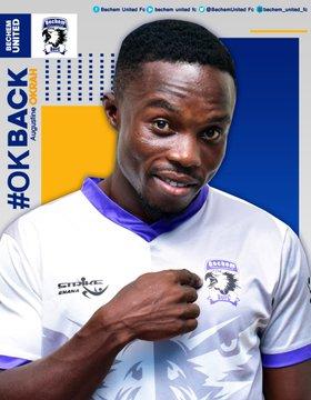 Bechem United re-sign club legend Augustine Okrah