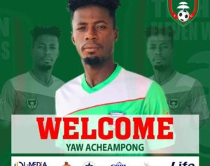 Eleven Wonders complete signing of Yaw Acheampong from Karela United