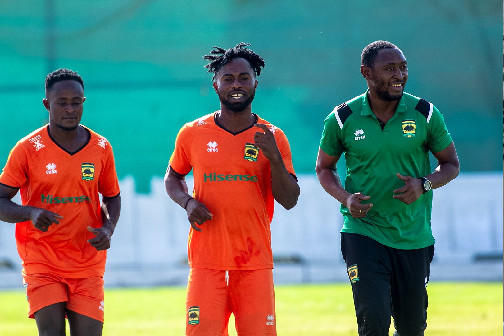 Solomon Sarfo Taylor and Francis Andy Kumasi join Kotoko teammates in Dubai for pre-season