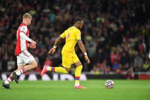 Ghana striker Jordan Ayew provides assist as Crystal Palace draw at Arsenal