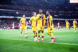 Crystal Palace striker Benteke heaps praise Ayew and Edouard