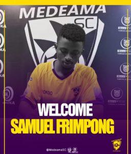 Defender Samuel Frimpong happy to join BIG club Medeama SC