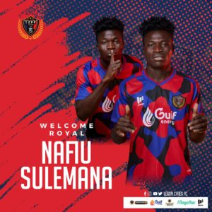 Inter Allies forward Nafiu Sulemana joins Legon Cities on permanent deal