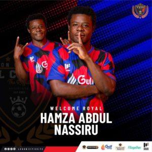 Legon Cities sign Abdul Nassiru Hamzah from Inter Allies on permanent deal