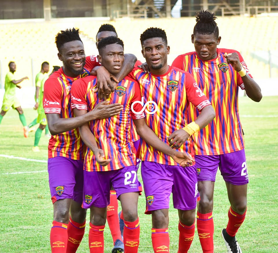 CAF Champions League: CAF approves request to admit 2000 fans for Hearts of Oak vs Wydad clash