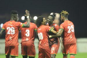 Match Report: Kotoko draw 1-1 with UAE lower-tier side Liwa FC