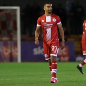 Ghanaian striker Kwesi Appiah disappointed with Crawley Town's defeat to Tranmere Rovers