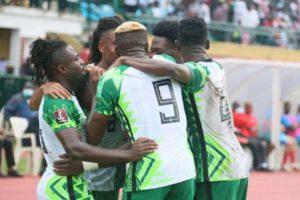 2022 FIFA WCQ: Balogun and Nigeria avenge shock CAR loss