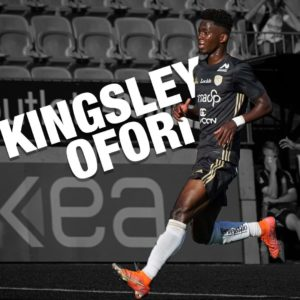 Ghanaian youngster Kingsley Ofori emerges as top scorer in Finnish Kokkone League with 15 goals